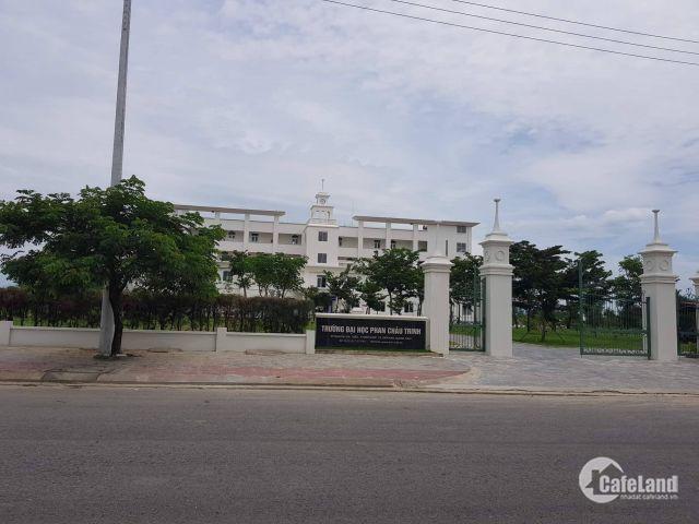 Cần bán lô góc ngay cổng sau trường đại học y Phan Chu Trinh. khu đô thị số 3.