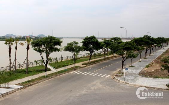 Đất biệt thự mặt tiền Bùi Viện - siêu dự án SHB, mặt tiền sông Hàn