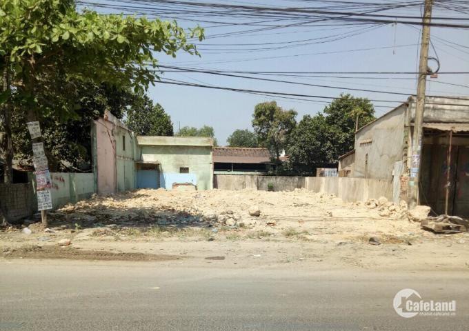 Đất chính chủ mặt tiền quốc lộ 50, 133m2 1ty5 Bình Chánh, SHR LH:0965077703