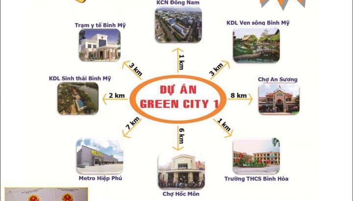 Cơ hội vàng đầu tư đất MT trung tâm huyện Củ Chi với 10% giá 12tr/m2