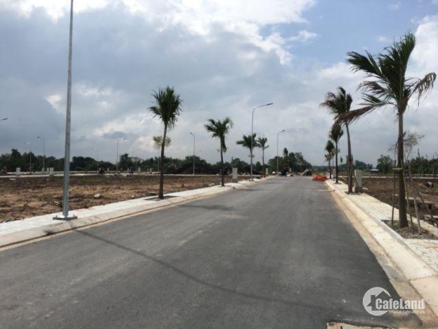 Bán 80m2(5x16m) đất gần CO.OP MART Đỗ Văn Dậy, cách chợ Hóc Môn 1,5 km.