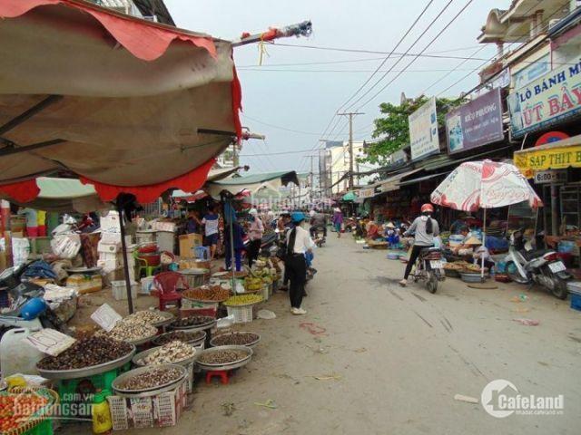 Đất KDC chợ Hóc Môn mặt tiền Dương Công Khi, 700 triệu, SHR, bao sang tên công chứng