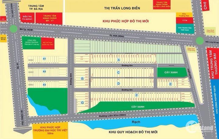 Chính Thức Nhận Đặt Chỗ Dự An Bà Rịa Gold City, Cam Kết Lợi Nhuận 15% Khách Đầu Tư