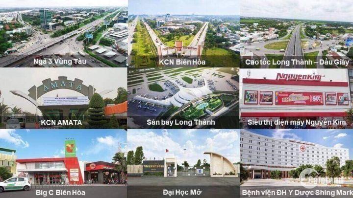 bán đất nền khu dân cư cao cấp central mall long thành MTQL51 ngay chợ mới long thành
