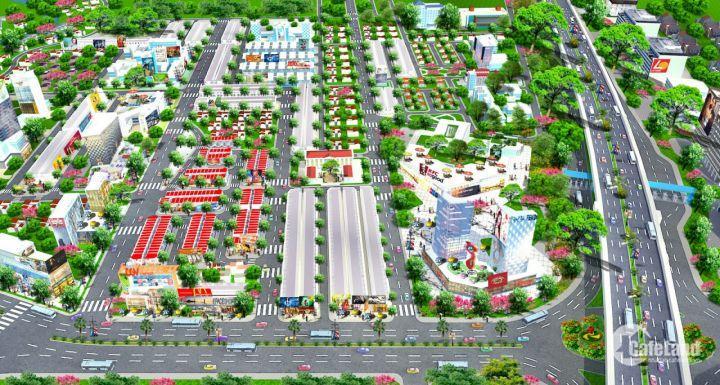 Đất nền thổ cư dự án Ecotown Long Thành