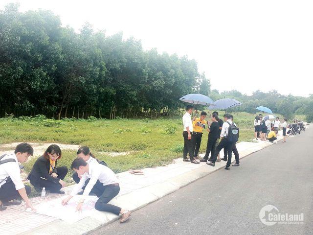 Đất gần Sân Bay Long Thành dân cư hiện hữu chi 630 triệu 125m2 thổ cư 100% LH: 0898681166