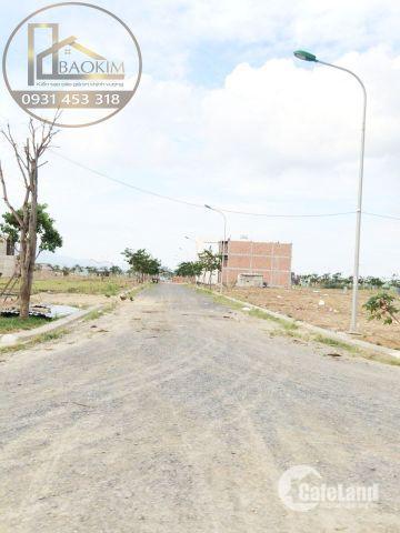 Đất điện âm Nam Hòa Xuân, lô góc, B2.38, Tây Bắc dt 125m2, gần đường 10,5m lh 0931 453 318