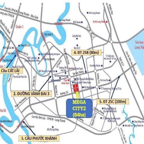 MEGA CITY 2 THU HÚT CÁC GIỚI ĐẦU TƯ NGAY TỪ NGÀY ĐẦU TIÊN MỞ BÁN - 0901.725.793