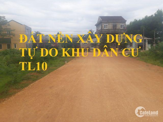 Đất nền giá rẻ- Đất xây nhà diện tích lớn cạnh trường Huế Star