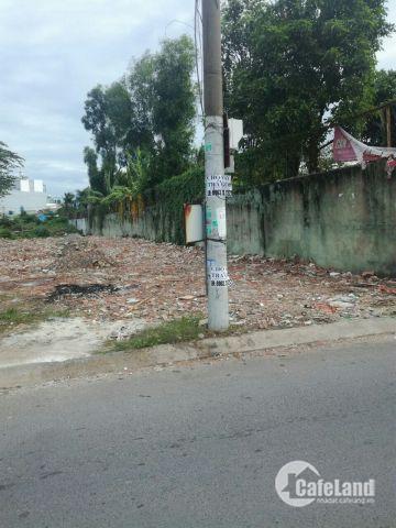 Lô đất trên đường Bưng Ông Thoàn, quận 9, có sổ hồng.