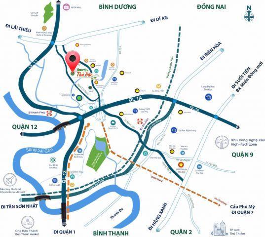 Nhận giữ chỗ chỉ 20 triệu/nền dự án KDC Smart City