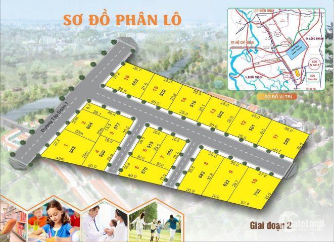 Đất Mặt Tiền Đường Nhựa 16 M Thị Xã Phú Mỹ Bà Rịa- Vũng Tàu
