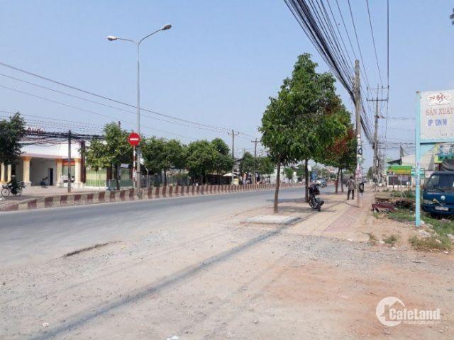 Bán đất trung tâm thị xã Thuận An,  DT 4.5x17m, thổ cư 100%. Ngay mặt tiền đường Bình Chuẩn 31
