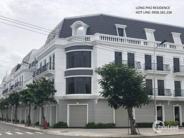 Nhà Phố kiểu Pháp Long Phú Residence mặt tiền đường QL1A