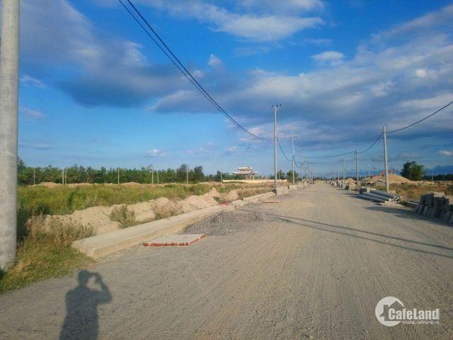 Bán đất gần biển Hà My,giá 6,8tr/m2 chuẩn bị ra sổ Lh 01283753661