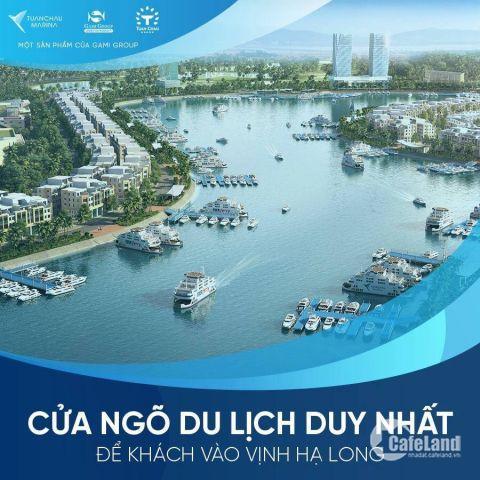 Bán suất ngoại giao rẻ 1 tỷ dự án Shophouse Tuần Châu Marian Hạ Long