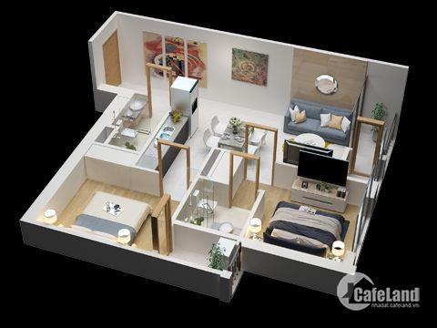 Bán CH Green Bay Garden, giá từ 17tr/m2, đầu tư sinh lời hấp dẫn, LH: 0977804344