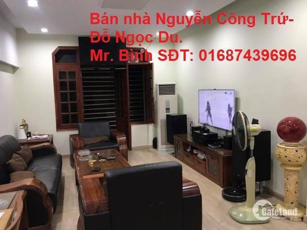 Bán nhà trung tâm quận HBT – Nguyễn Công Trứ gần Đỗ Ngọc Du 33m2 giá 3,5 tỷ.