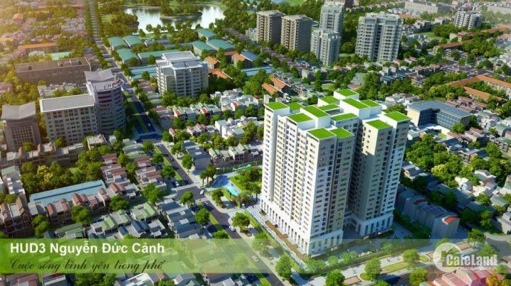 Bán CHCC90,4m2 thuộc dự án HUD3 60 Nguyễn Đức Cảnh