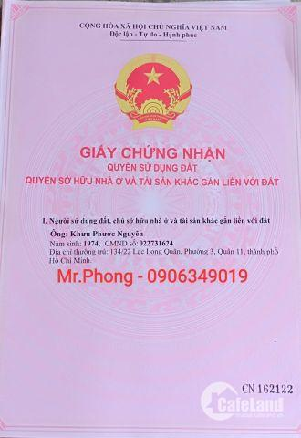 Cần Bán Gấp nhà Mặt Tiền đường Đinh Đức Thiện, Sau Chợ Bình Chánh.SHR - 0906349019