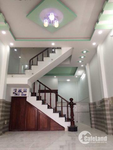 Nhà mới 1 lầu,Liên Ấp 123,Bình Chánh,giá rẻ,60m2