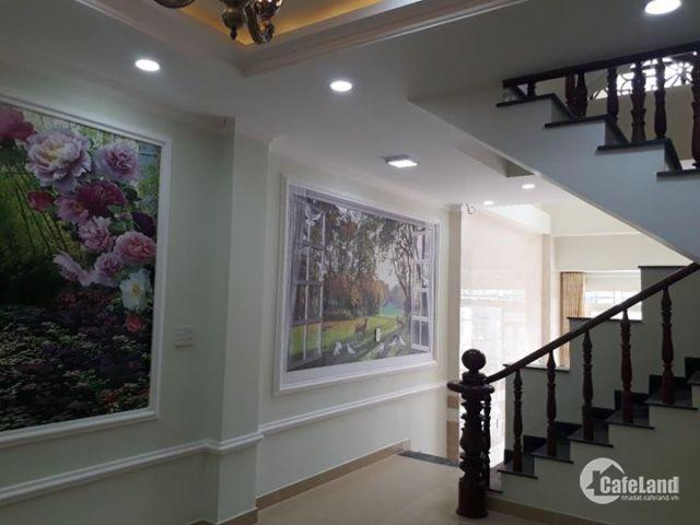 Nhà đẹp mới xây gần QL50 Bình Chánh, đã có sổ