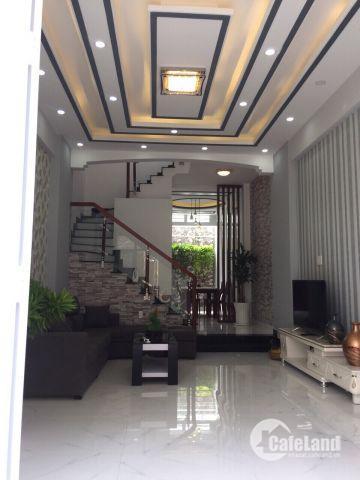 Bán nhà Nhà Bè hẻm 1806 Huỳnh Tấn Phát DT 4m x 14m, 4PN, giá 3.85 tỷ