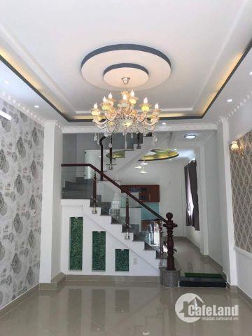 Nhà mặt tiền hẻm 98 Dương Cát Lợi, thị trấn Nhà Bè ngay cầu Phú Xuân