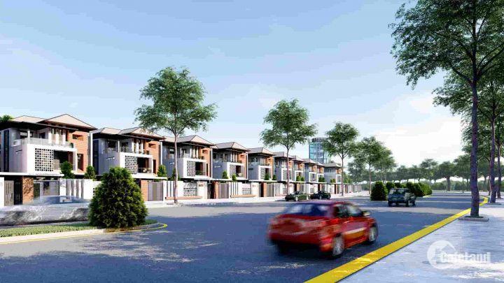 Biệt thự quảng trường sông Trường Giang ngay tt thị trấn Núi Thành giá CĐT chỉ 19.5tr/m2