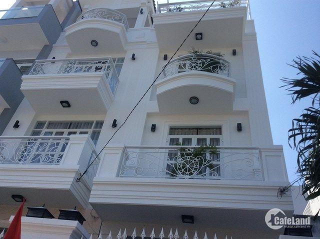 Bán nhà mặt tiền đường Cống Quỳnh, P Nguyễn Cư Trinh, Quận 1. DT: 4m x 12m. trệt 3 lầu