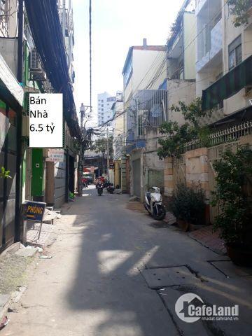 Bán nhà  96m2 hẻm 232 Cao Thắng (nối dài), P.12,  Q.10( 6.5 TỶ )