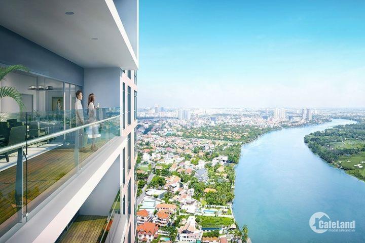 Bán 4PN Q2 Thảo Điền 181m2, thang máy riêng, full nội thất sang trọng, view cực đẹp Lh 0903.69.10.96