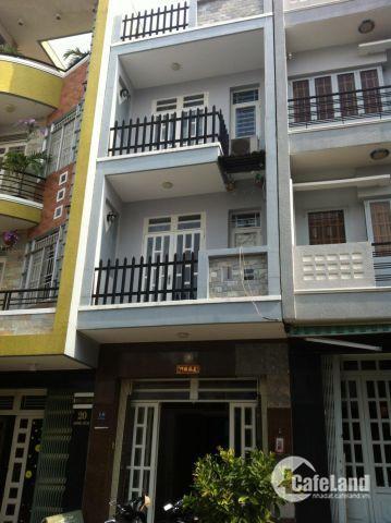 Bán Nhà 2 mặt tiền đường BÀN CỜ,P3,Q3 DT: 4,1x12m, nhà 1 trệt 3 lầu, Giá 14 tỷ