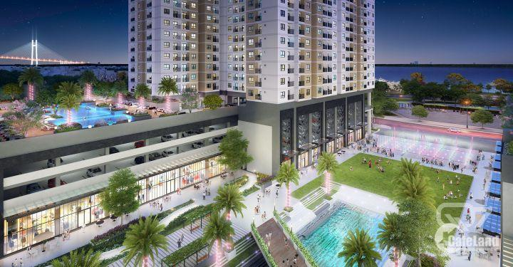 Căn 2 phòng ngủ, view sông SG, khu phức hợp công viên, giá rẻ nhất khu vực
