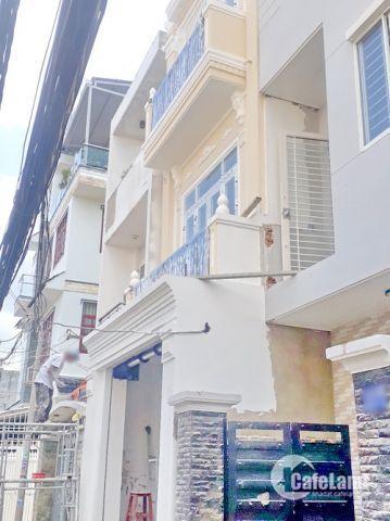 Bán nhà hxh quay đầu 115 Phạm Hữu Lầu, phường Phú Mỹ, quận 7, dt 4 x 14 m. Giá: 5.2 tỷ
