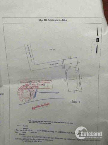 Nhà có 4 ptro ngay dự án Hoàn Cầu, P. Tân Thuận Tây, Q7