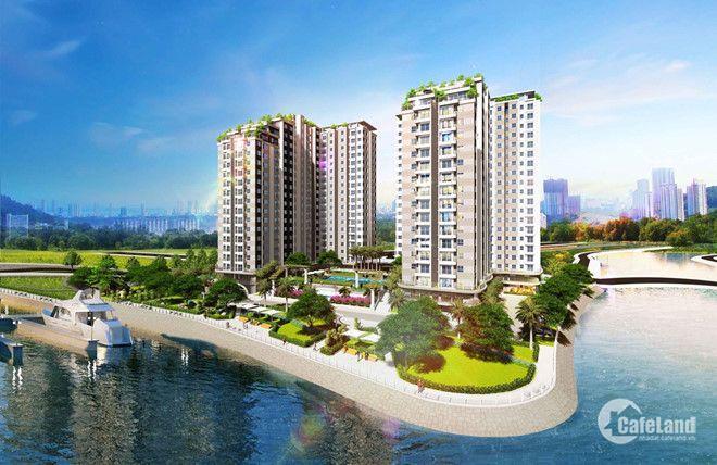 Chỉ 1tỷ sở hữu CH 2PN, MT Tạ Quang Bửu, view sông, full nội thất ngân hàng hỗ trợ 75%, 01222256291