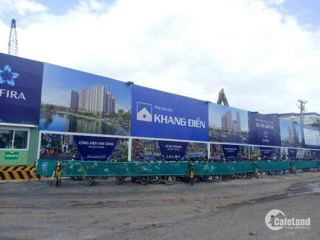 Chỉ 1,3 tỷ sở hữu ngay căn hộ Safira Khang Điền. Đầy đủ tiện ích. Giá 26 triệu/m2 LH: 0901473829