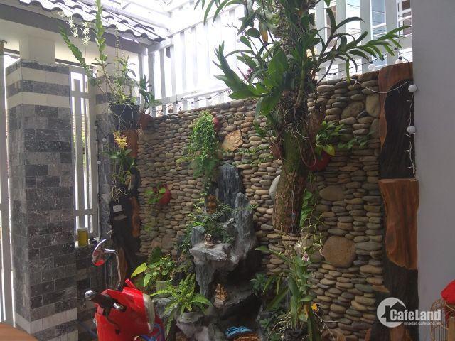 Nhà mới 1 trệt + 2 lầu, 1/ đường 12 Quang Trung, p. TNPB, sàn 180 m2