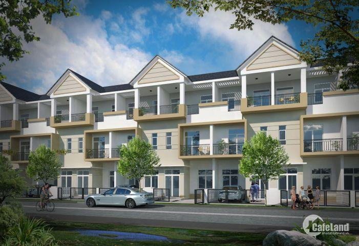 - Hệ thống nhà liền kề, nhà phố, biệt thự vườn  là loại hình căn hộ đa năng cho cả an cư và kinh doanh, nội thất thông minh được xây dựng trên mặt tiền của Đườn
