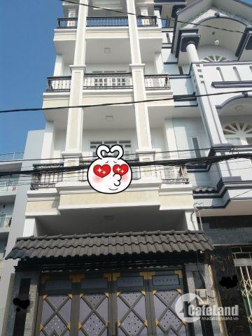 Nhà 4 tấm, 4mx15m hẻm nhựa 6m khu cao tầng, cách MT lê Đình Cẩn 20m