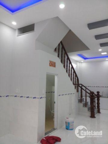 Bán nhà mới xây  Lê Tấn Bê, phường An Lạc, Bình Tân, 1 trệt 1 lầu