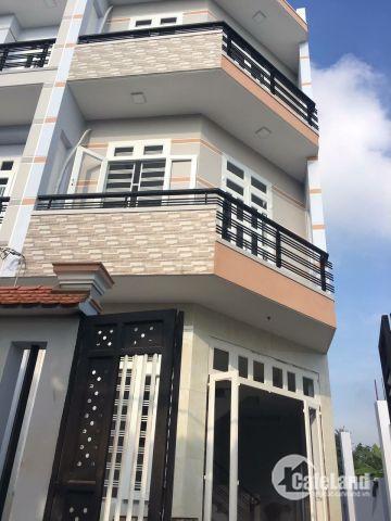 Nhà 1 trệt 3 lầu mới xây 100%, sổ hồng riêng, Bình Tân