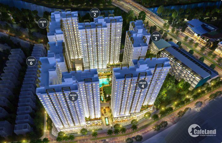 Siêu dự án ngay MT Võ Văn Kiệt Chỉ 1 tỷ 5/căn 2PN,TT trước 20% góp 1% tháng,giá Chủ Đầu Tư