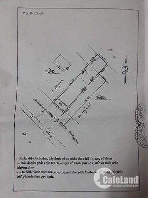 Nhà bán 4,4 x 20,5m mặt tiền đường Lê Đức Thọ giá 8 tỷ 800tr, đường nhựa 12m thông.