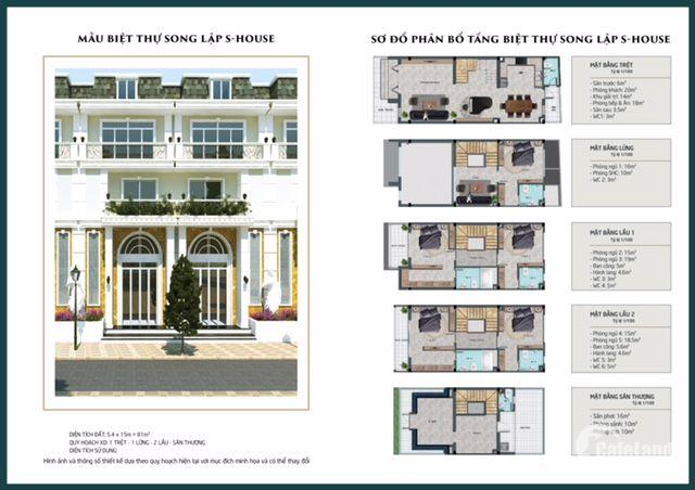 Nhà Phố , Biệt Thự Sofia Town , NGay TP tân An , LH 0888898879