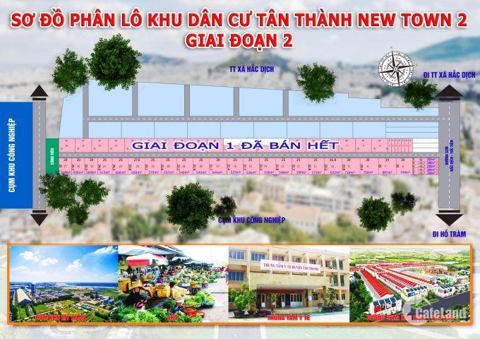 đất nền giá rẻ giá chỉ 2tr3/m2 sinh lời cao, liền kề KCN, chợ, trường học, sổ hồng riêng