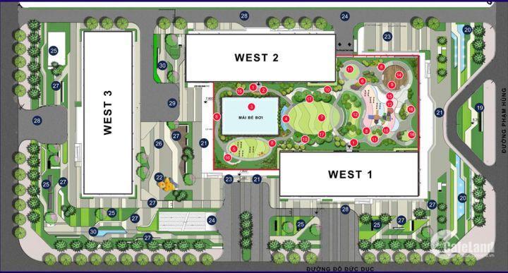 Bán căn hộ 2 ngủ giá rẻ 2 mặt đường tại Vinhomes West Point nằm gần Bảo Tàng Hà Nội...và nhiều căn hộ khác
