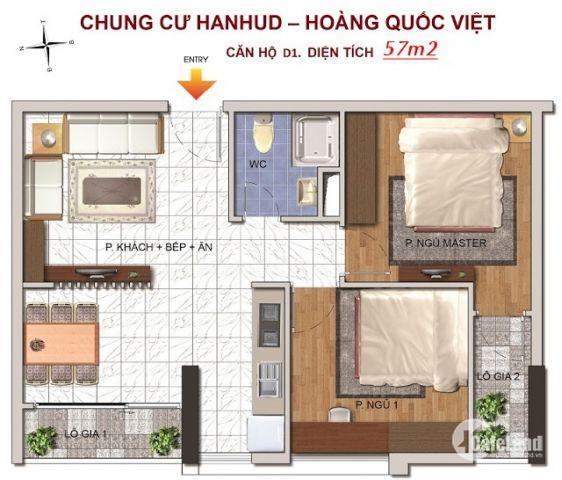 Bán chung cư thương mại tại Hoàng Quốc Việt, Giá cực rẻ, Diện tích đa dạng, Chỉ từ 1.4 tỷ/căn.