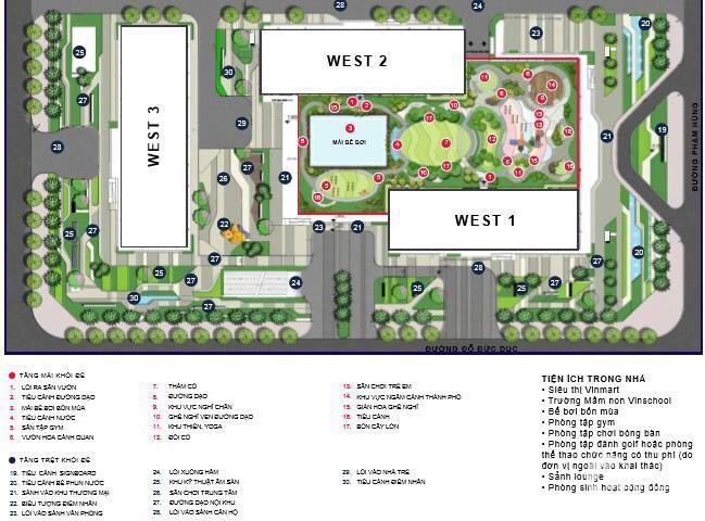 1đ vốn 4đ lợi ích chỉ dành cho căn 1PN W1 Officel Tel tại Vinhomes West Point HTLS 0%, LH  0971268778